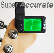 CS-5 Accurate Clip On Tuner for Acoustic and Electric Guitar Violin Bass Banjo