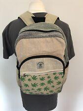 Hemp Rucksack backpack ecofriendly hippie nepal stylish