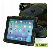 Ipad 2/3/4 Case Winpartner Travellor Silicone Plastic Dual Protective Back Cover