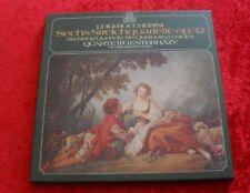 2 LP Box Luigi Boccherini Sechs Streichquartette op.32 Quartetto Esterhazy