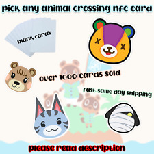 Pick Any Animal Crossing NFC Card!