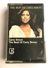 CARLY SIMON - THE BEST OF CARLY SIMON - Cassette K452025