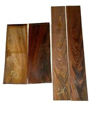 Cocobolo Rosewood CLASSICAL Guitar Back & Side Set Luthier Tonewood #50