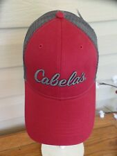 CABELA MESH SNAPBACK BALL TRUCKER HAT. NWT. 3546385f0c72