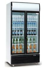 AG Flaschenkühlschrank Kühlschrank Glastür Getränkekühlschrank 800 L  0-10 Grad