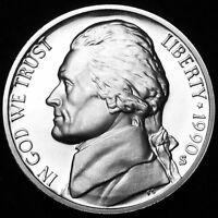 1990 S Jefferson Proof Nickel