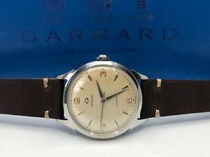 Vintage Garrard Automatic Mens Watch + Box