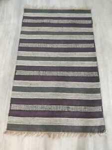 Handmade Jute Traditional Home Decorative Area Rug Modern Rug Flat jur fine rug