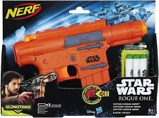 New Disney Hasbro Star Wars Rogue One Captain Cassian Andor Blaster Nerf Gun