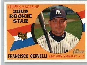 2009 Heritage Baseball # 571 Francisco Cervelli -NY Yankees