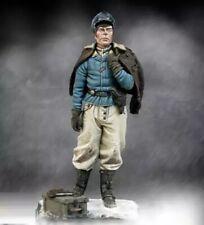 1/24 Resin Figure Model Kit German Soldier Pilot Luftwaffe WWII Unpainted