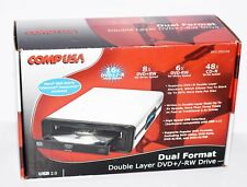 NEW COMPUSA EXTERNAL Dual Format Double Layer DVD +/- RW USB 2.0 FREE SHIPPING!