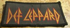 Def Leppard Patch Collectable Vintage Woven English Picture