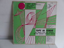 Tops in tenor CHU BERRY 's little jazz ensemble COLEMAN HAWKINS Chocolate dandie
