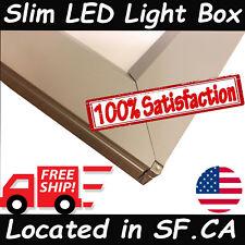 Ultra Slim Single Side LED Light Box 36