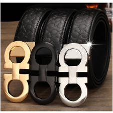 Men's Genuine Leather Luxury Designer Casual High Quality Automatic Buckle Belts