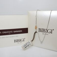 Girocollo Diamante CT 0.12 punto luce in Oro bianco18kt by BIBIGì ref: CLS5458B1