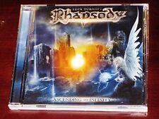 Rhapsody: Ascending To Infinity CD 2012 Bonus Track Luca Turilli NB 2857-2