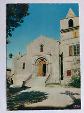 Les-Baux-en-Provence French colour Postcard c1970s Saint-Vincent Church