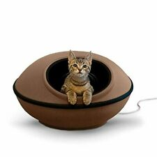 K&H PET PRODUCTS Mod Dream Pod Pet Bed, Cat Cave For All Cat Sizes, Heated and U