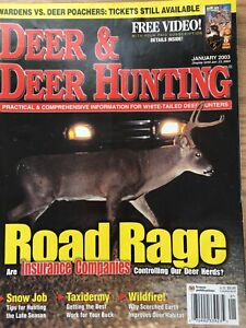 Deer And Deer Hunting Jan 2003, Taxidermy Getting The Best Work For Your Buck