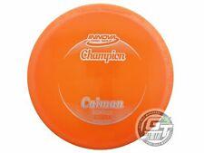 Used Innova Champion Caiman 163g Orange Glitter Foil Midrange Golf Disc