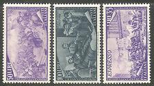 1948 Italia Repubblica Risorgimento N° 580/910+Ex. 13v. ** integri Cert.Raybaudi