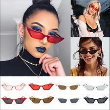 Women Cat Eye Design Sunglasses Retro Small Eyeglass UV Protection Eyewear