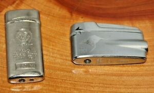 2 X Vintage Lighters Ronson Varaflame Eagle Windproof No. 5888 Untested As Is