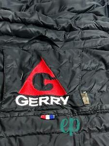 Black Gerry down jacket size medium