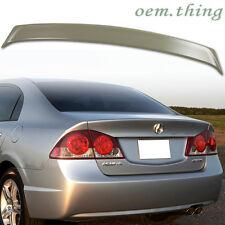 ACURA CSX 4DR Sedan Performance Type Rear Trunk Spoiler Wing ABS 06-11 Unpaint ○