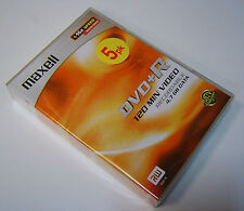 5 Pack maxell DVD+R Recordable 16 x Speed 4.7 GB jewel case NEW