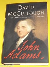John Adams Biography 2001 David McCullough Great Pictures! Nice See!