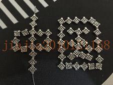 PJ412  20pc Retro Tibetan Silver Spacer Beads Jewelry Accessories wholesale
