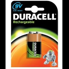 Duracell Rechargeable 9V (6HR61 / MN1604) NiMh Battery (170mAh)