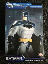 DC Universe Online Batman Statue Jim Lee 1139 Of 5000 DC Direct MIB