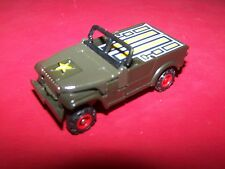 Vintage MC Toy Military Jeep Robot