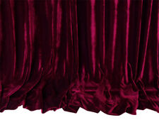 Large Thick Velvet Curtains 600x230cm with full liner 30 hooks Burgundy New