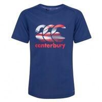 Canterbury garçons T shirt Vapodri Kids Sports Gym T-Shirt T-shirt Âge 8-12 ans