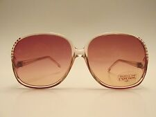 Bausch & Lomb Expressions XII Rose Gradient Vintage Sunglasses Made in Italy
