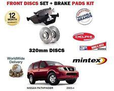 für Nissan Pathfinder DCI 2.5DT 2005- > front 17'' Set Bremsscheiben+