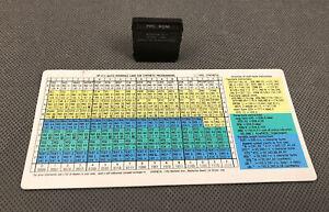 PPC ROM Pac Module HP-41C, HP-41CV, HP-41CX w/QREF & Manual