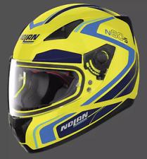 Nolan N60-5 Practice Fluo Hi-vis Yellow Full Face Motorcycle Helmet +Pinlock