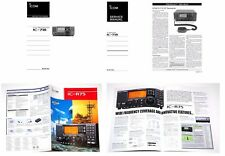 PHOTOCOPY INSTRUCTION MANUAL + SERVICE MANUALS +  COLOR BROCHURE for ICOM IC-718