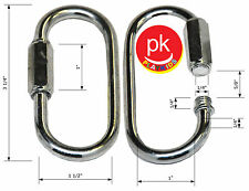 Swing Set (4) Quick Link Hooks connector hardware play set swing seat quicklink