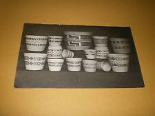 Old RPPC View South Western Styles Indian Baskets Photo Postcard