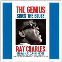 RAY CHARLES - THE GENIUS SINGS THE BLUES 3 CD NEU