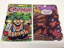 CRAZYMAN #1 SET (CONTINUITY/NEAL ADAMS/JOKER HOMAGE COVER/0616155) SET LOT OF 2