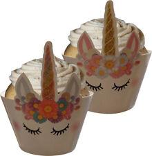 Unicorn Cupcake Wraps (12 Wraps)