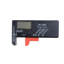 Button Cell Battery Meter Volt Tester  Checker for 9V 1.5V and AA AAA Batteries